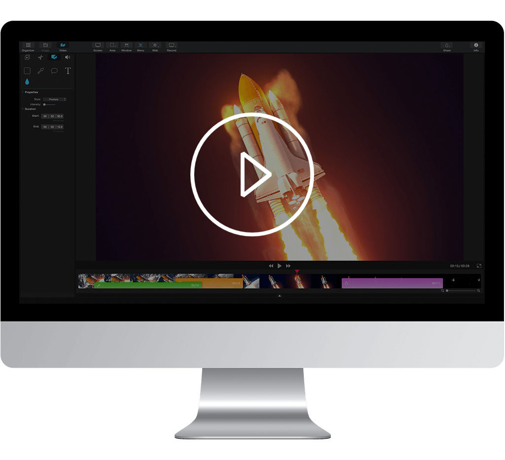 screen recording and video editing for Mac