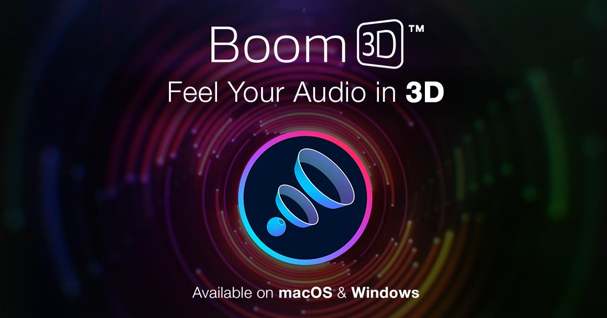 Boom3D Mac-Windows 2022 Crack