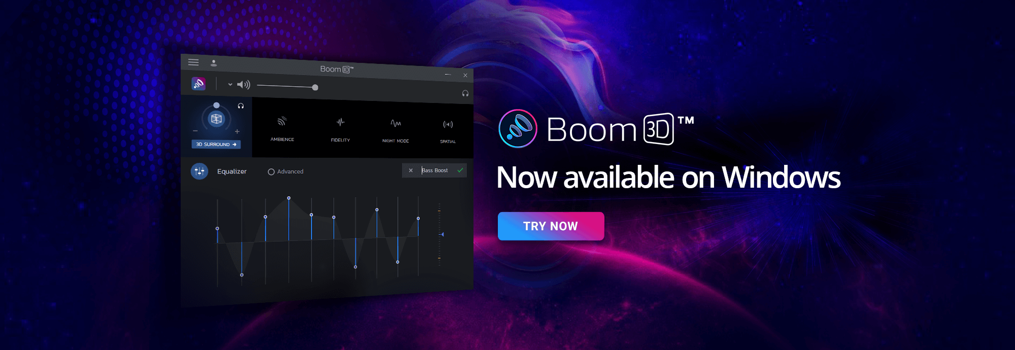 Boom3d Windows Launch Banner 2021